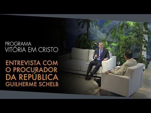 Programa Vitória em Cristo – Entrevista com o Procurador da República Guilherme Schelb – Assustador!