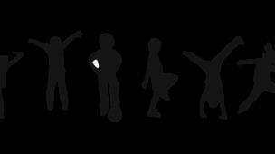 Ginastica santa - Imagem ilustrativa de crianças fazendo ginástica