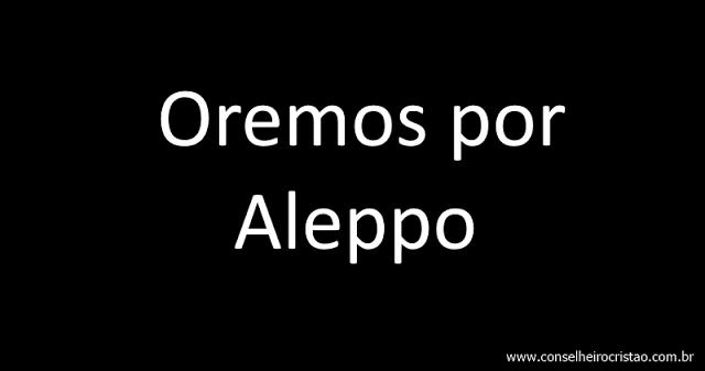 Oremos por Aleppo