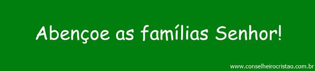 Abençoe a família Senhor