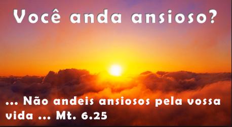 Conselhos de Jesus sobre ansiedade