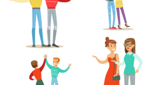 O Novo convertido e a família - Imagem ilustrativa