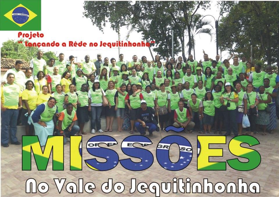 Apoio ao projeto Jequitinhonha - Conselheiro Cristão