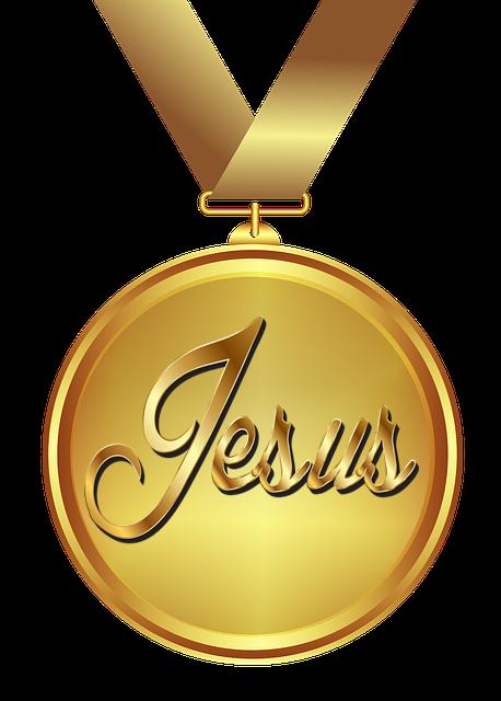 Medalha de Ouro Aos Meus Amigos - JESUS - O Amigo Mais Valioso Que o Melhor Ouro