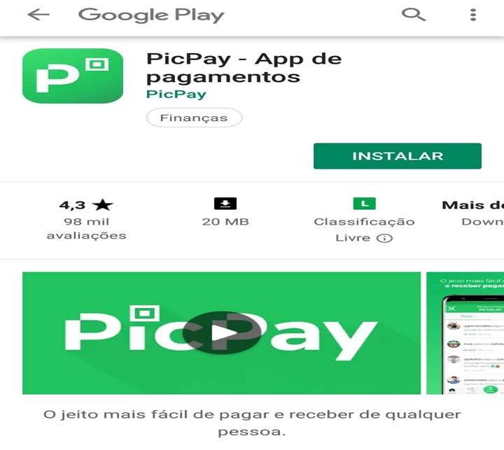 Instalar PicPay - Conselheiro Cristão