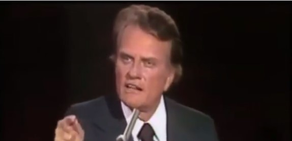 Mensagem Billy Graham - Billy Graham resumindo a mensagem de Cristo