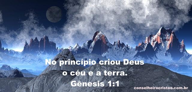 Genesis Capítulo 1 Versículo 1 - Gênesis 1:1