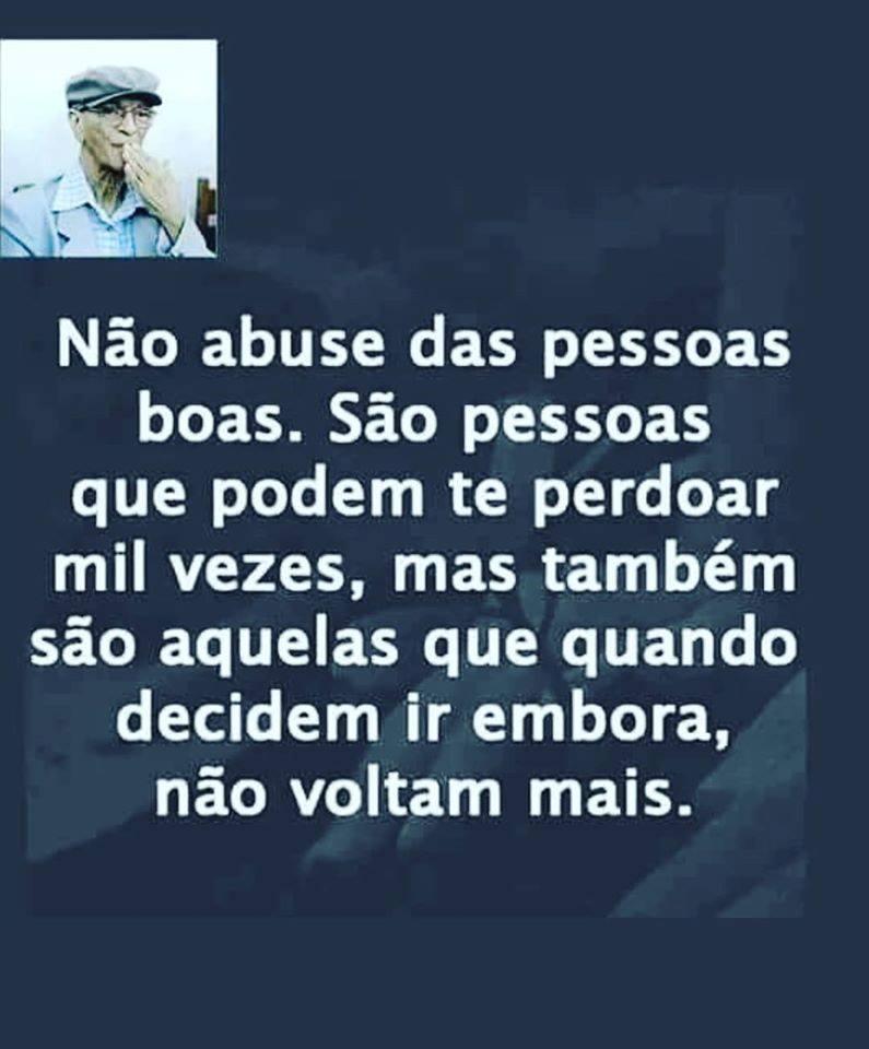 Não abuse das pessoas boas - Não Abuse Das Pessoas Boas