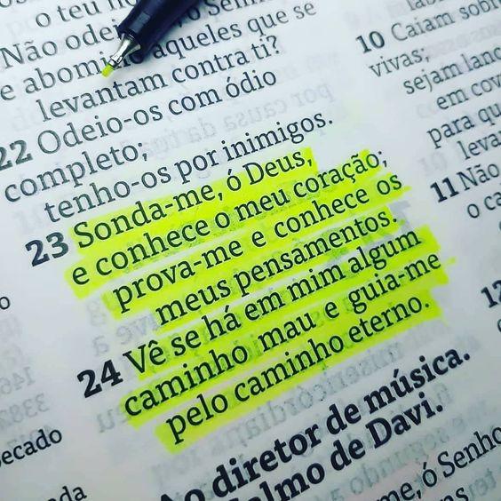 Sonda me hó Deus 1 - Um Dos Salmos Mais Lindos da Bíblia