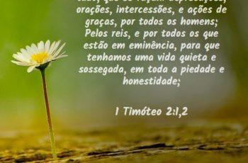 Jair Messias Bolsonaro Convoca a Igreja a Um Jejum Nacional