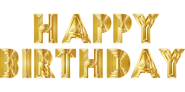 Seja feliz 1 - Feliz Aniversário - Celebre