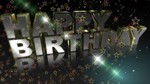 Feliz aniversário - celebre