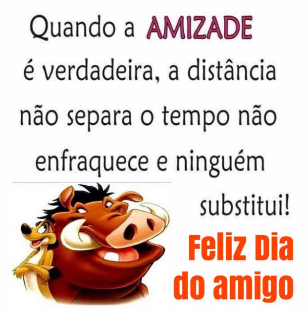 Feliz dia do amigo - Feliz Dia do Amigo